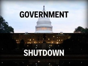 How would the government shutdown affect students?
