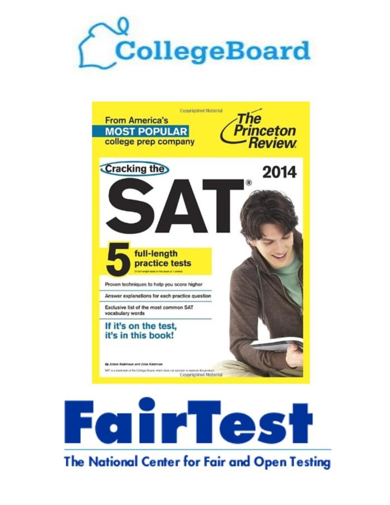 fairtest college board and SAT