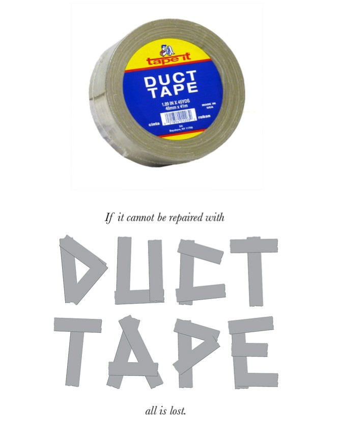 second Duck Brand Duct Tape