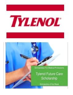 tylanol med student scholarship