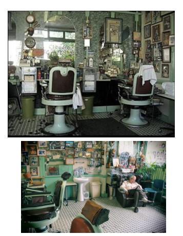 Claudio and his vintage shop 1