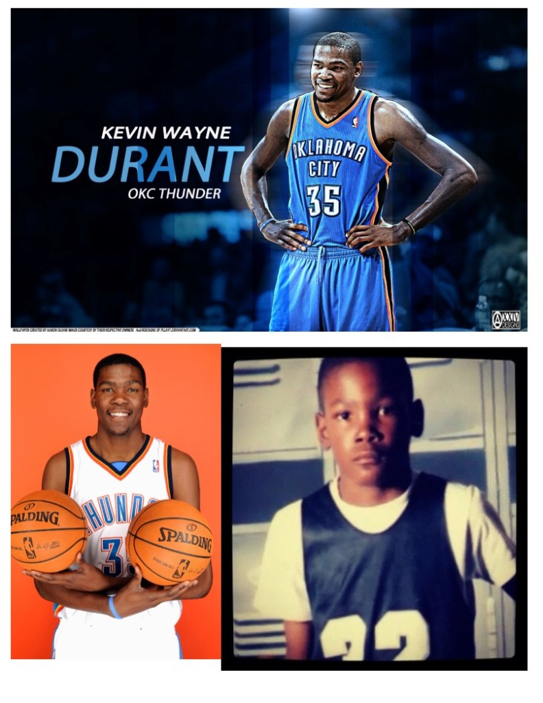kevin wayne durant 1 for rampage