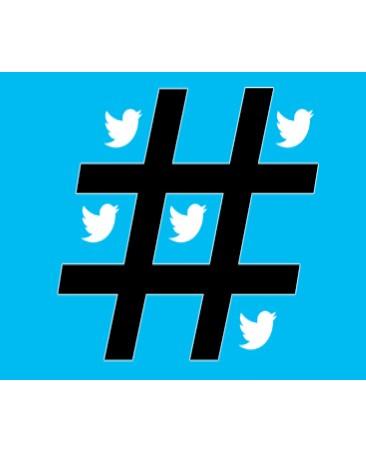 twiter hashtag pic
