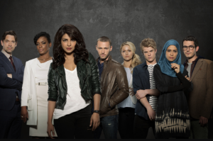 The cast of Quantico.