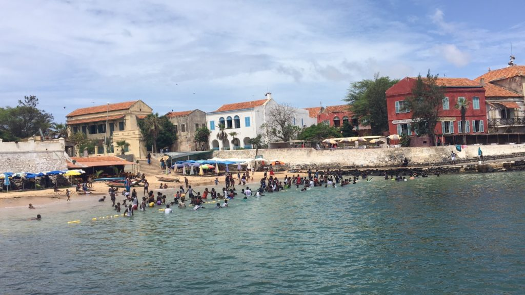 The Goree swimming area near the House of Slaves