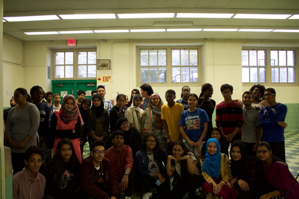 Members and friends of the Muslim Students Association